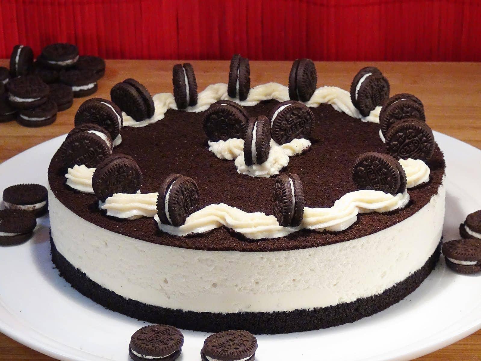 Cheesecake di Oreo
