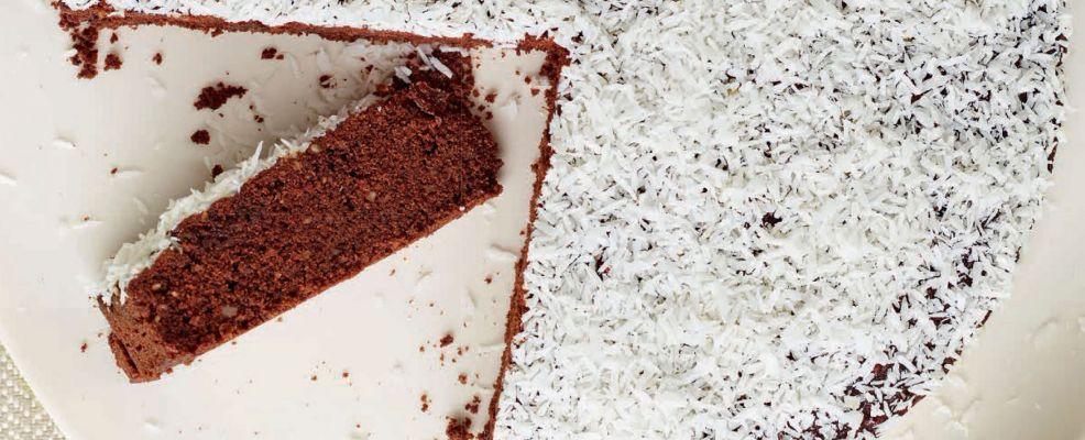 Torta riso e cacao
