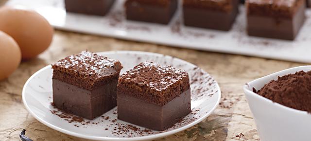 Torta al cioccolato senza forno