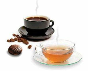 Tè e caffè: uguaglianze e differenze