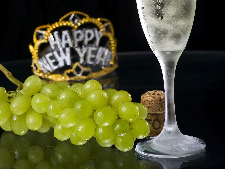 Come presentare le uve a Capodanno
