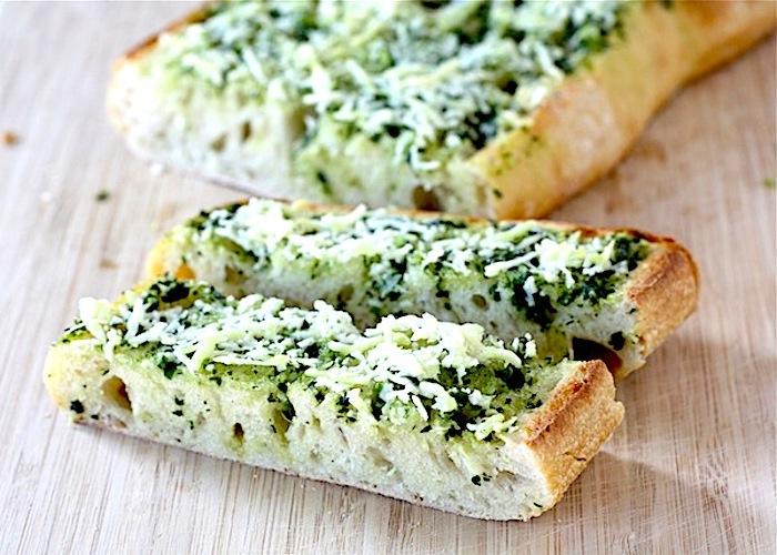 Il pane all'aglio