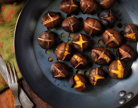 Come preparare le castagne arrostite