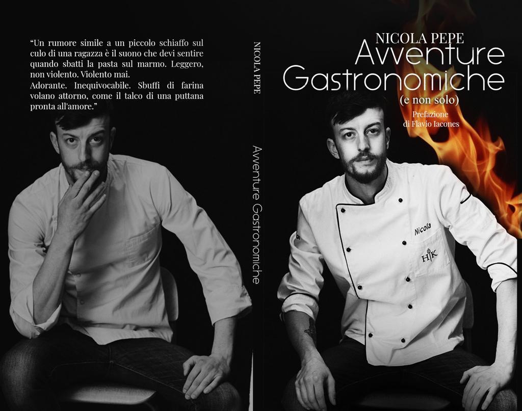 Nicola Pepe presenta il suo libro Avventure Gastronomiche