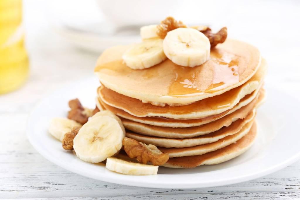 Pancake alle banane