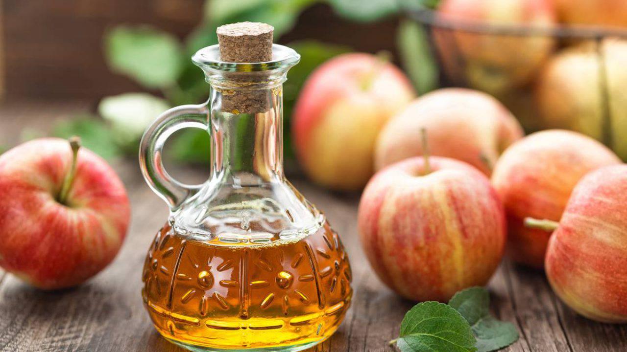 Aceto di mele e limone