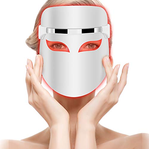La maschera facciale a LED