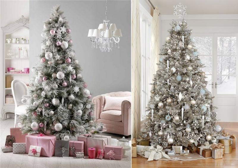 Decorazioni In Legno Per Albero Di Natale : Alberi di natale eleganti donnissima