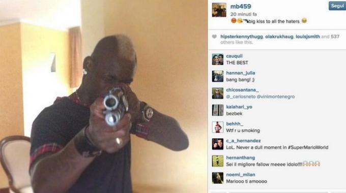 Super Mario torna a casa e carica il fucile