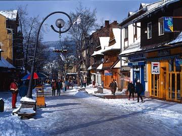 Fuga di fine inverno: Zakopane