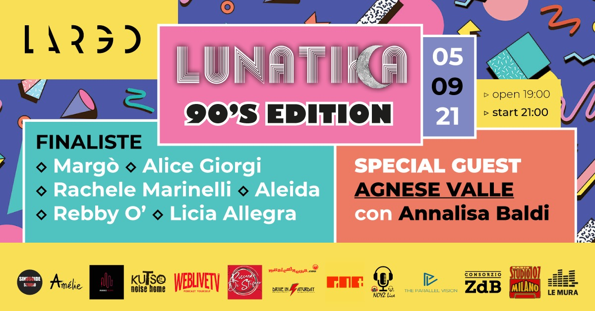 ROMA: LUNATIKA CONTEST 5 SETTEMBRE