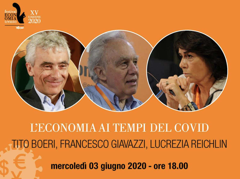 Festival Economia: domani alle 18 Giavazzi e Reichlin