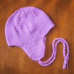 cappellino con paraorecchie