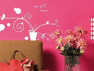 Decorare le pareti di casa, gli stickers murali facili e veloci