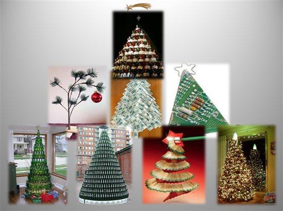 Stili idee e decorazioni per il nostro albero di natale - Idee decorative per natale ...