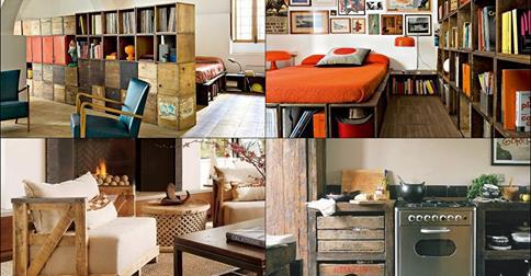 Idee creative per recuperare vecchi mobili donnissima - Mobili per recuperare spazio ...
