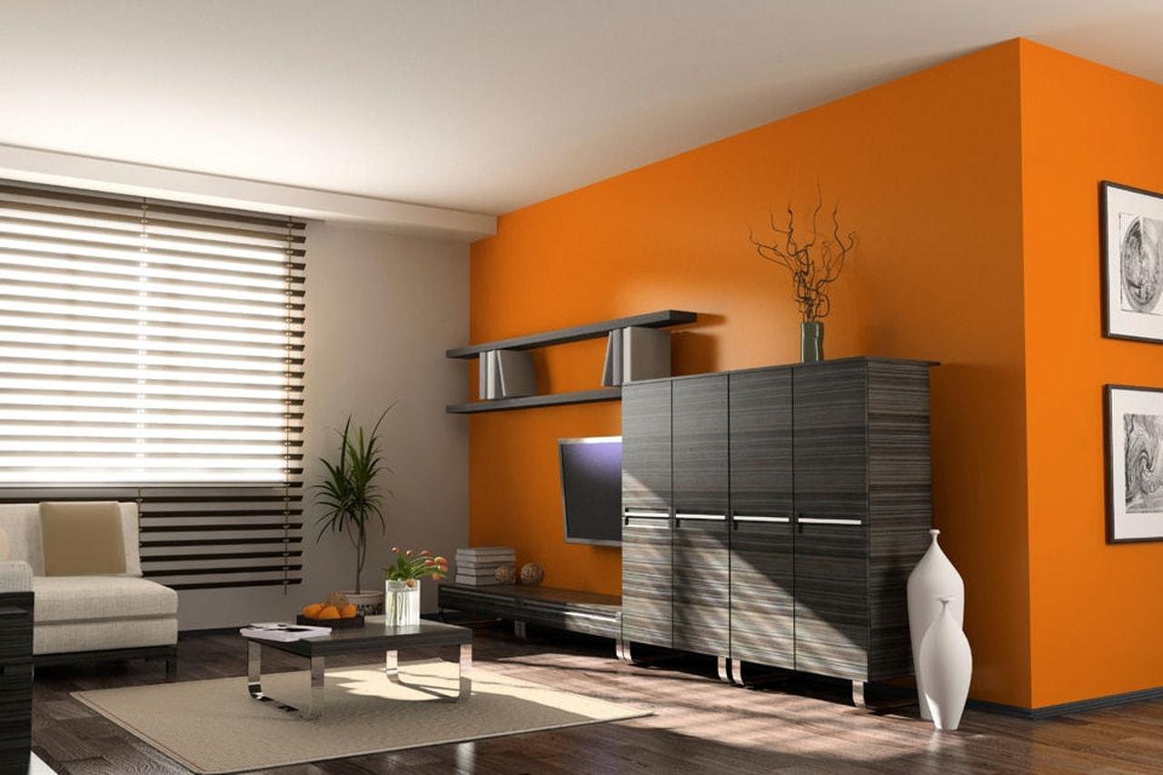 Colore Arancione Pareti Camera Da Letto.Come Combinare Il Colore Arancione Sui Muri I Migliori Consigli
