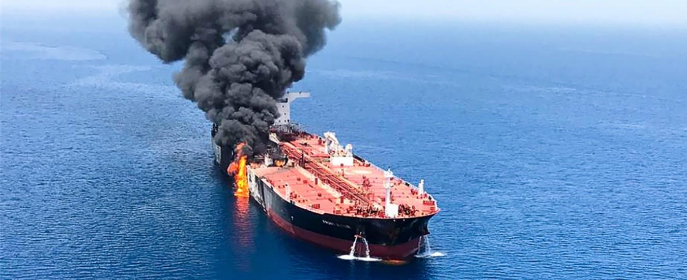 Incendi alle petroliere