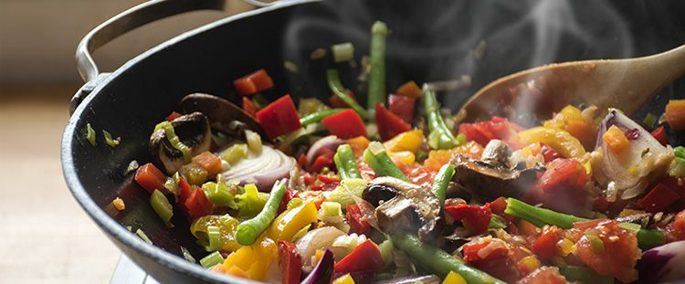 Come preparare il riso in wok
