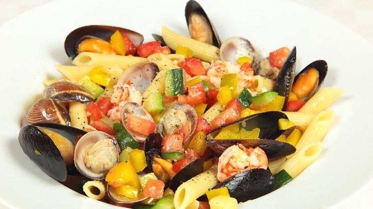 Ricetta della pasta ai frutti di mare