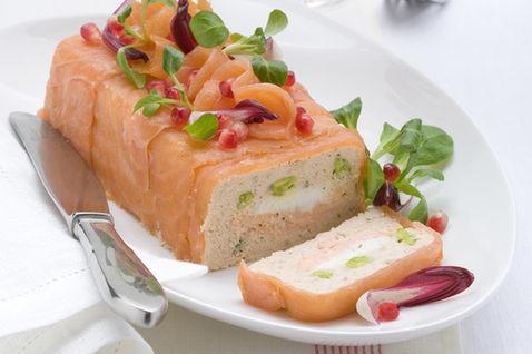 Terrina di Salmone alle verdure