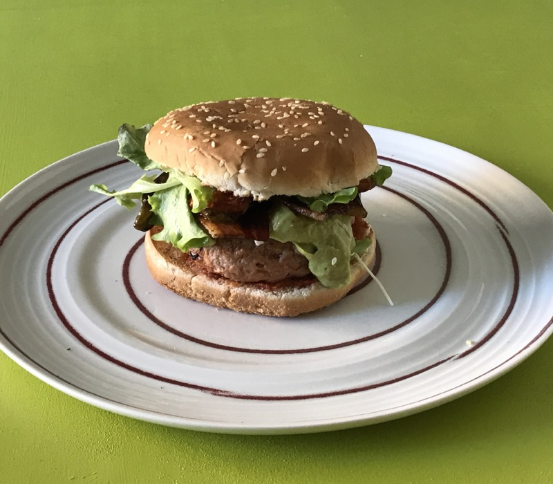 hamburger di fava