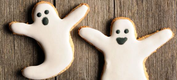 Come fare i biscotti fantasma per Halloween