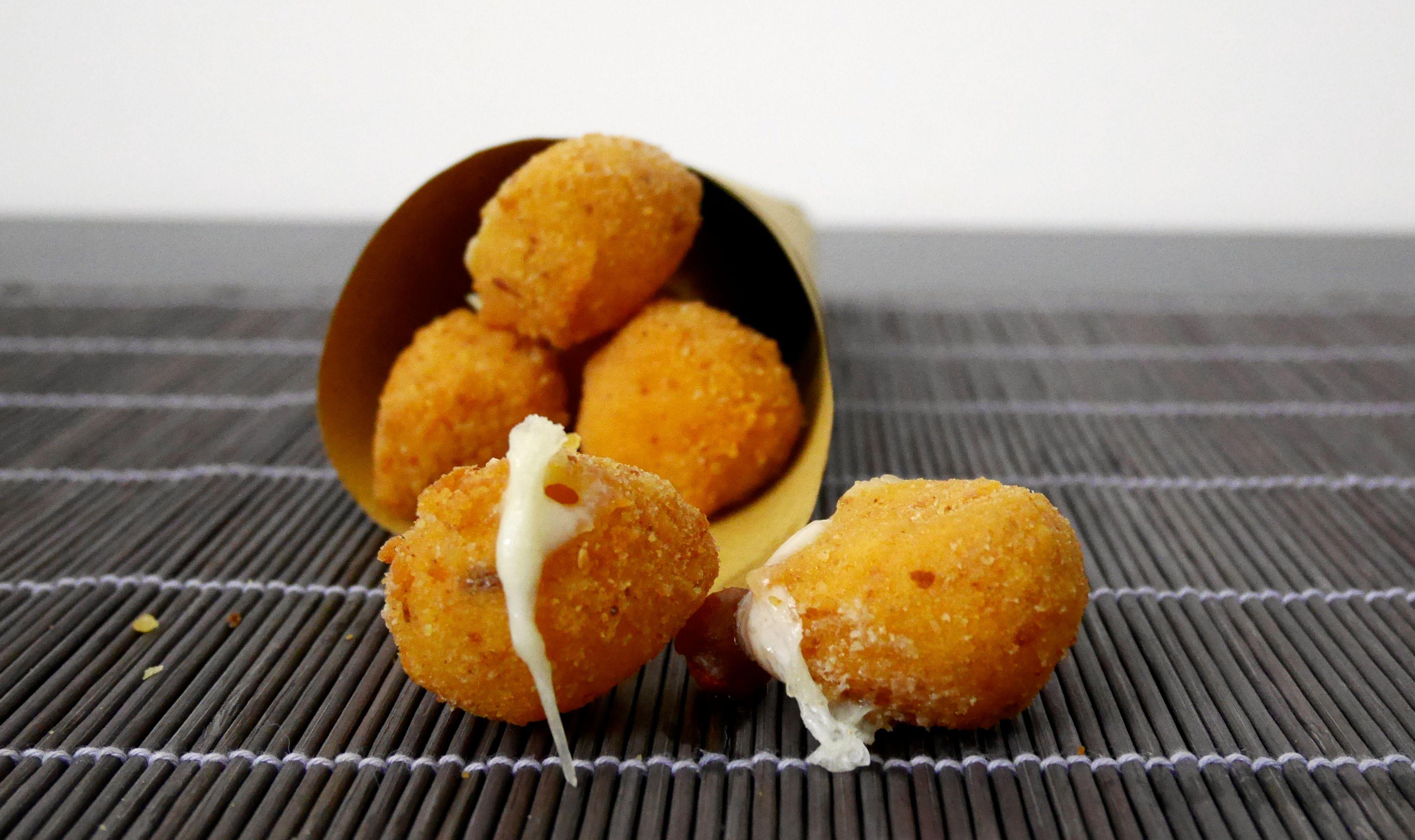 Mozzarelline fritte