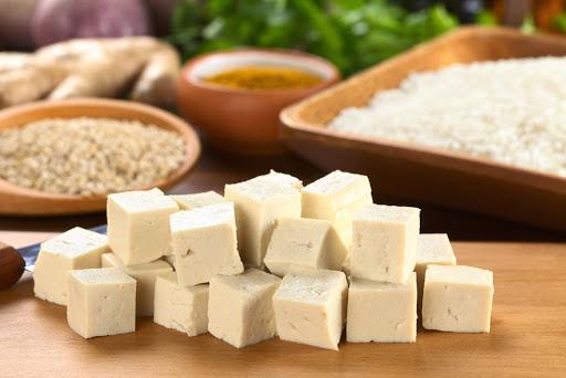 Tofu con il curry