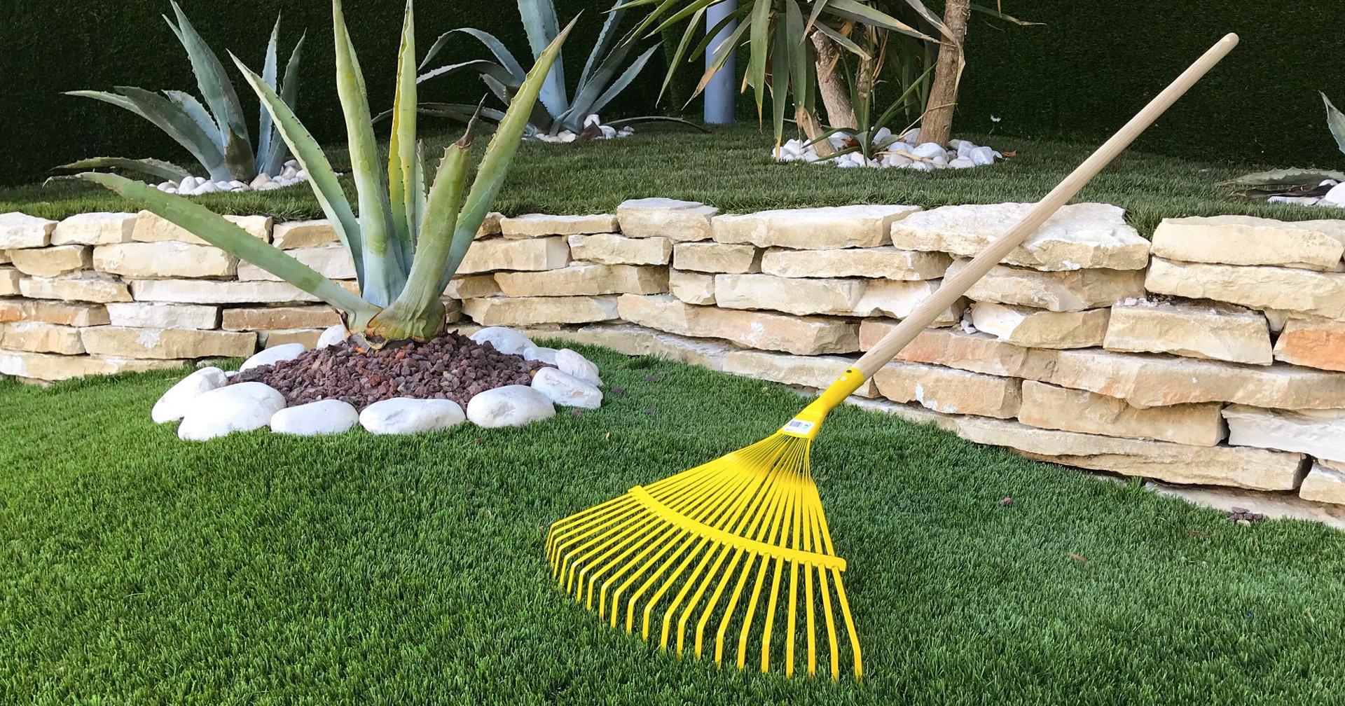 Come pulire l'erba sintetica