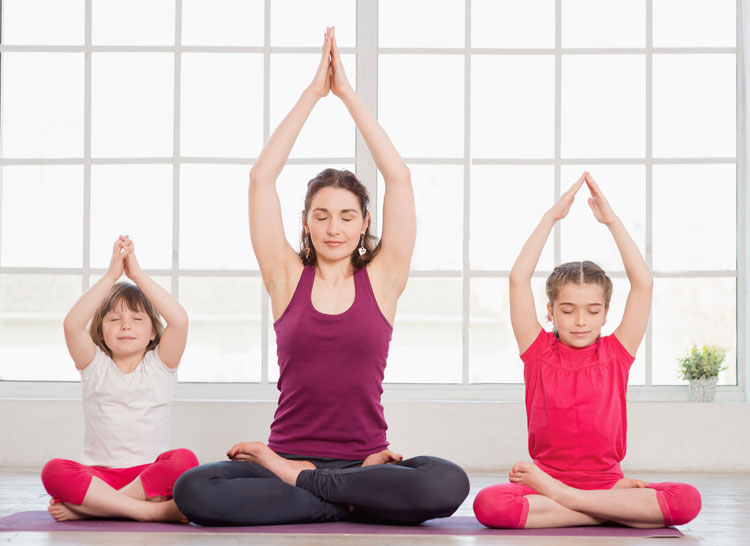 Benefici dello yoga per i bambini iperattivi