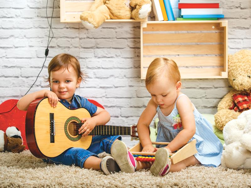 I bambini e la musica