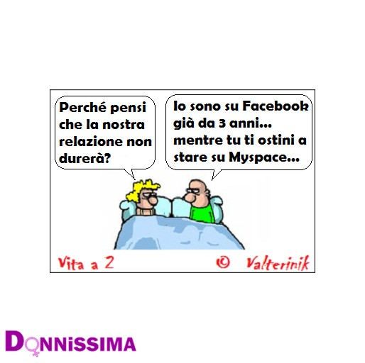Vita a 2 Facebook vs MySpace